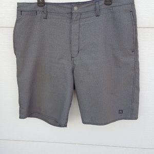 Quicksilver shorts light weight gray size 36 waist
